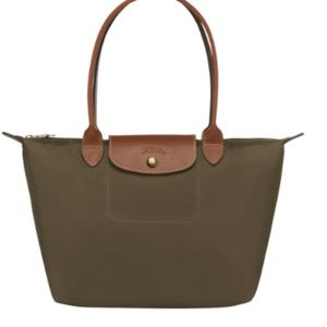 Longchamp Le Pliage Tote Bag - Small - Khaki
